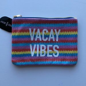 """NEW """"Vacay Vibes"""" Travel Pouch/Bag/Cosmetic Bag"""